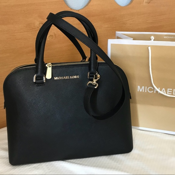 86af93df49c8  298 Michael Kors Cindy MK Dome Crossbody Bag